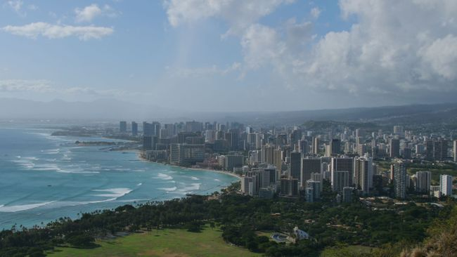 Blick vom Diamond Head