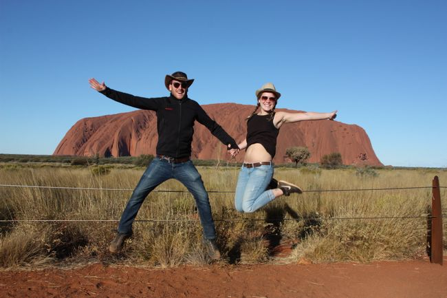 Uluru, Kata-Tjutas und Kings Canyon