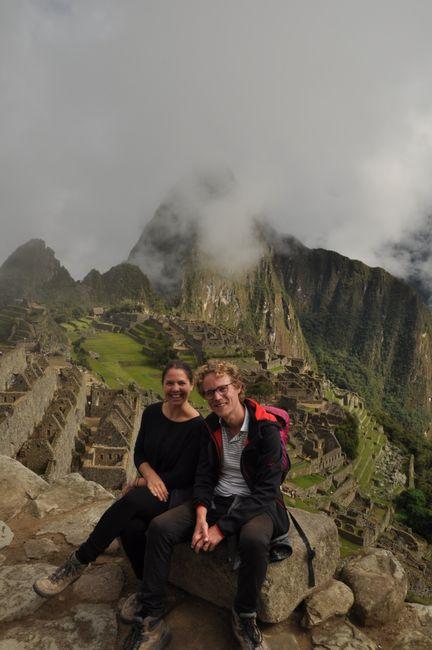 Endlich in Machu Picchu