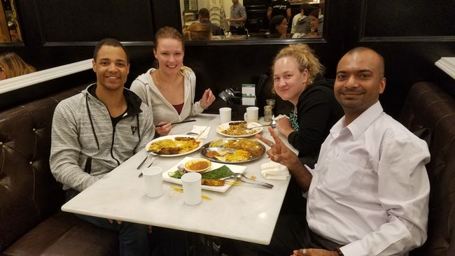 Abendessen mit Ghani und Ella