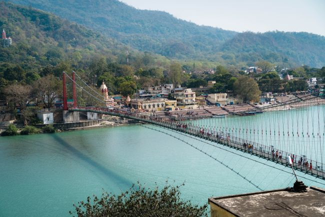 Lakshman-Jhula-Hängebrücke