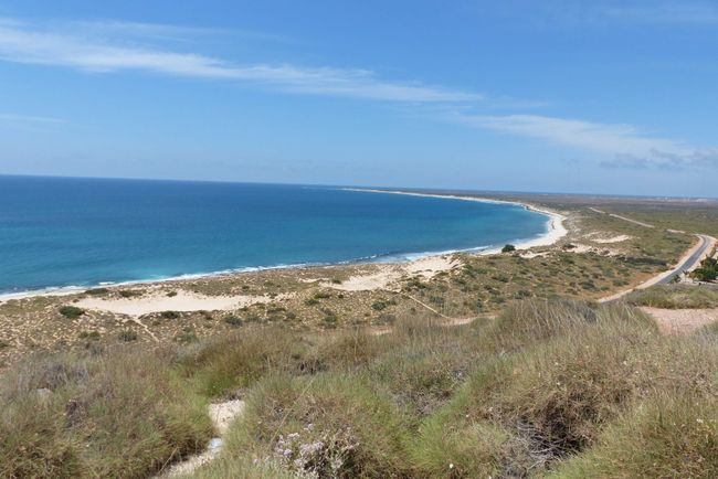 Tag 32: Cape Range National Park (Tulki Beach & Turquoise Bay) - Exmouth - Coral Bay
