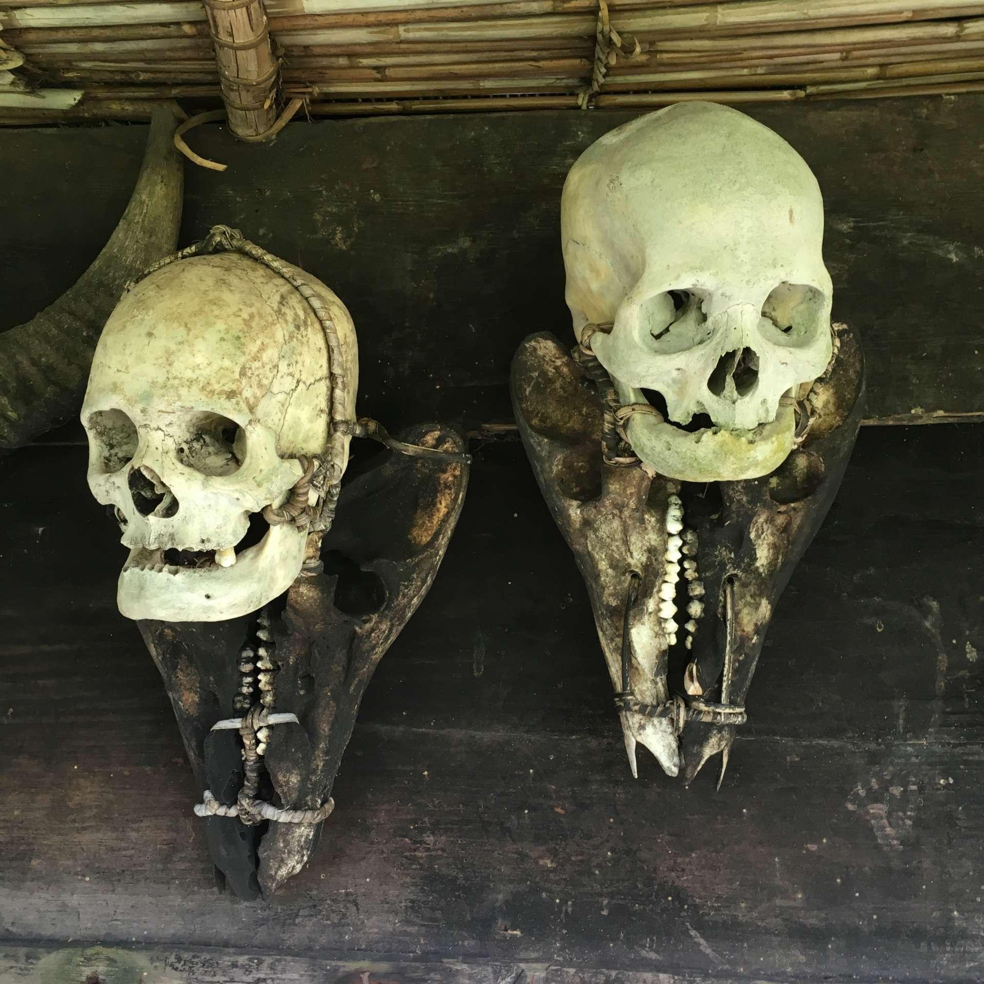 Überreste von japanischen Soldaten
