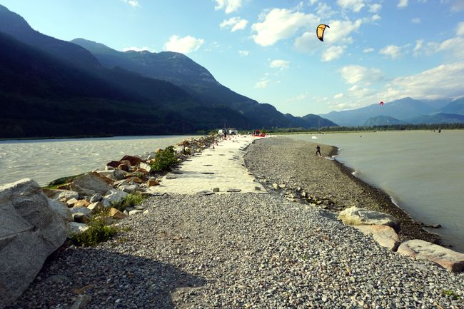 The Spit in Squamish