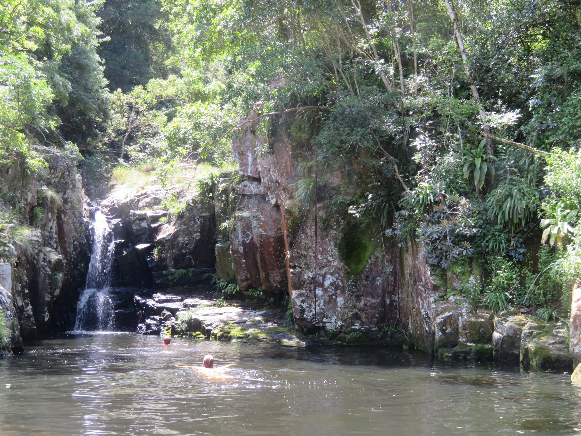 Bulolo Falls in Port St. Johns
