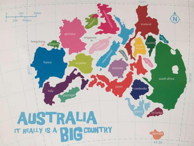 Fazit Australien – Australia really is a BIG country