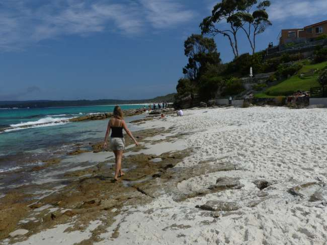 Spaziergang am Hyams Beach