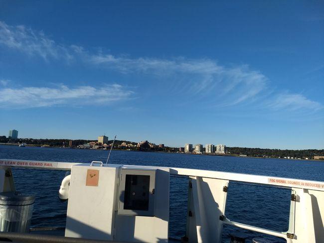 Einmal mit der Faehre rueber nach Dartmouth fuer einen Tagesausflug