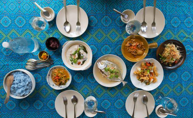Kulinarische Genüsse der thailändischen Küche.
