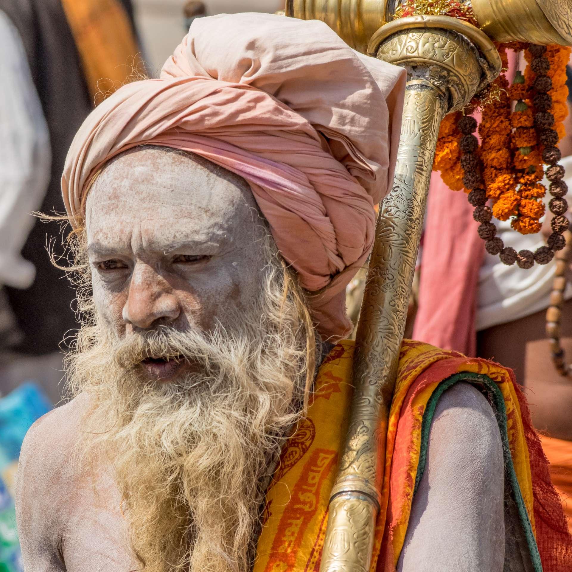 Asket/ Saddhu ein Anhänger Shivas