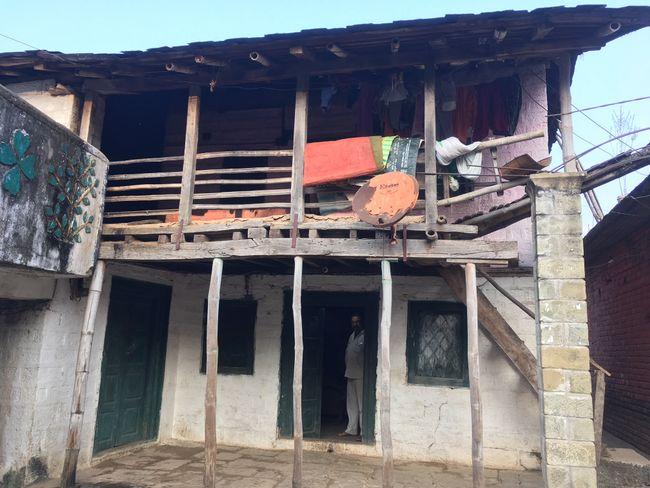 So sah das Haus aus.