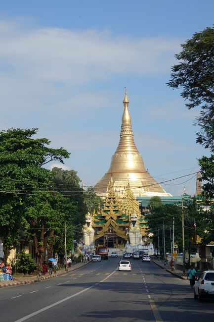 Day 237 Shwedagon Pagode
