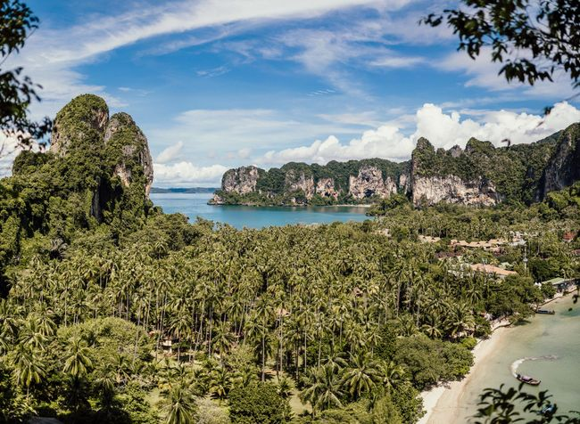 Panorama Railay Beach