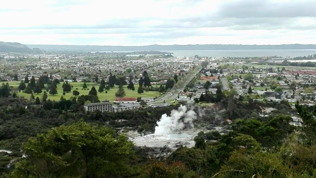 Drei Nächte in Rotorua - The Sulphur City