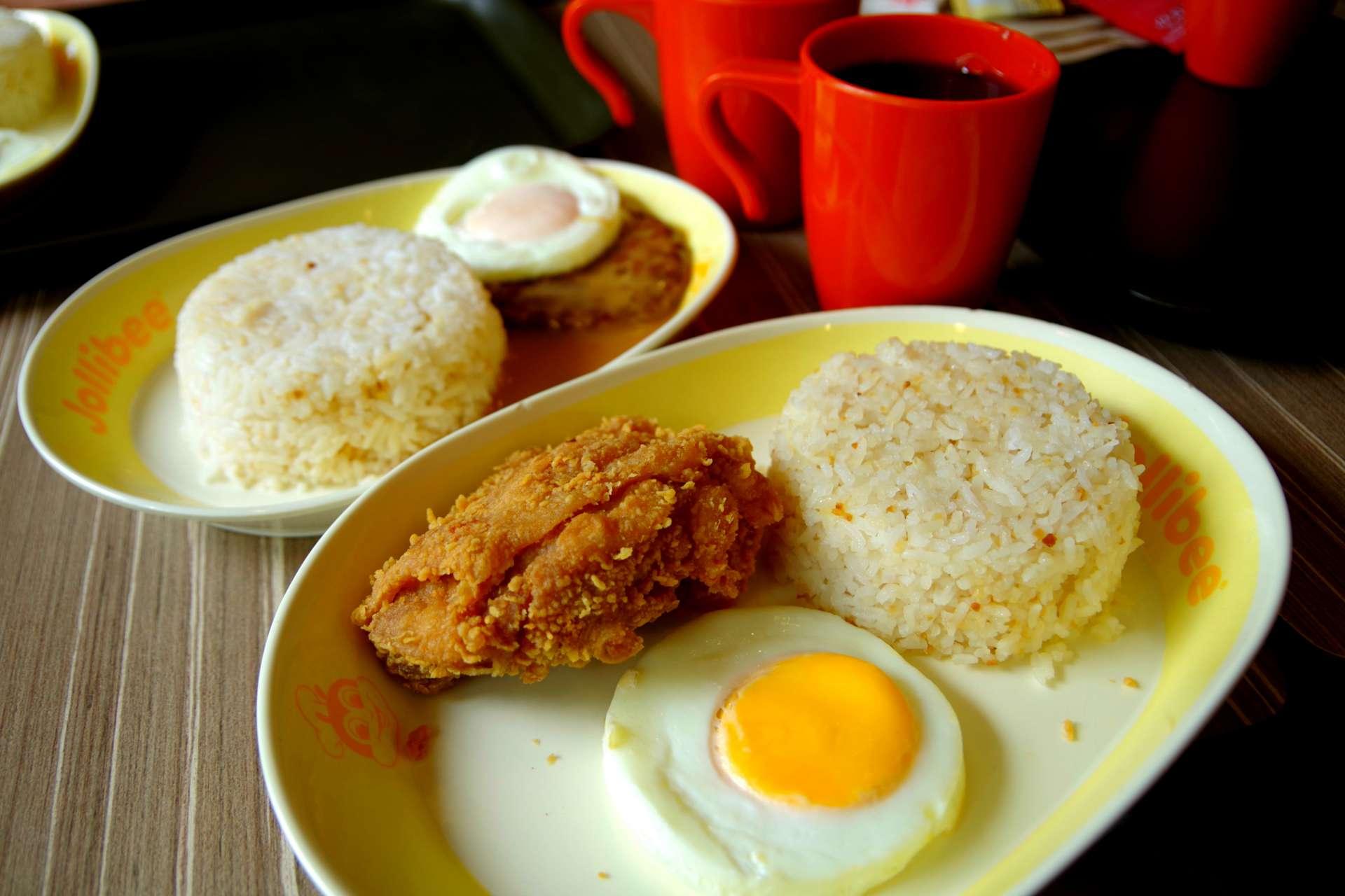 ein typisches Frühstück, oder Mittag oder Abendessen