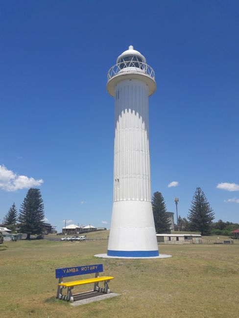 Clarance Head Lighthouse in Yamba