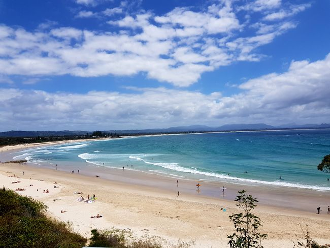 Byron Bay: Strand und Hippies