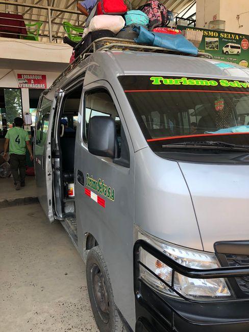 Transporter nach Yurimaguas