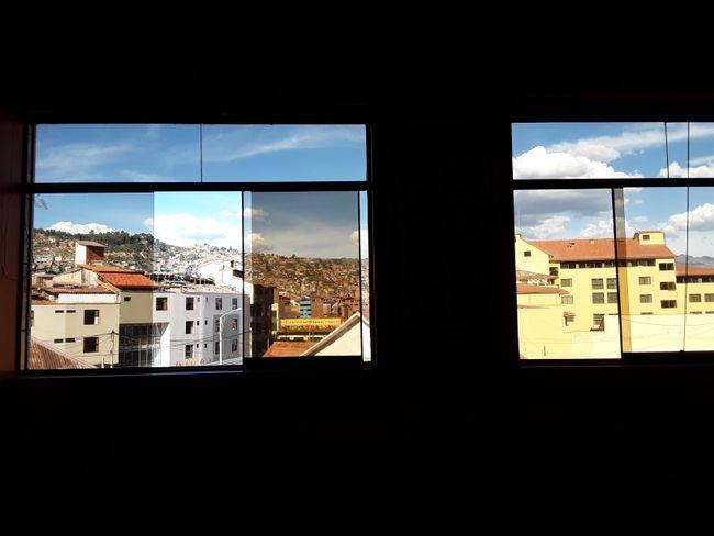 Ausblick aus unserer Wohnung