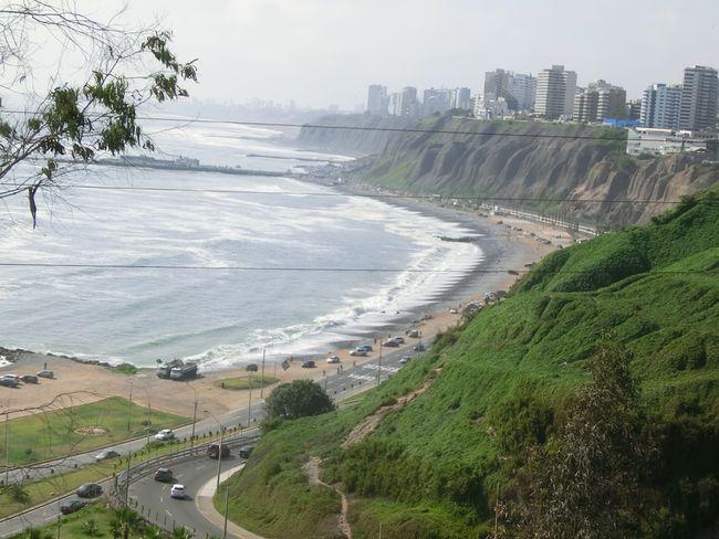 Sicht von Barranco aufs Meer