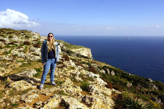 Dingli Cliffs am Nachmittag