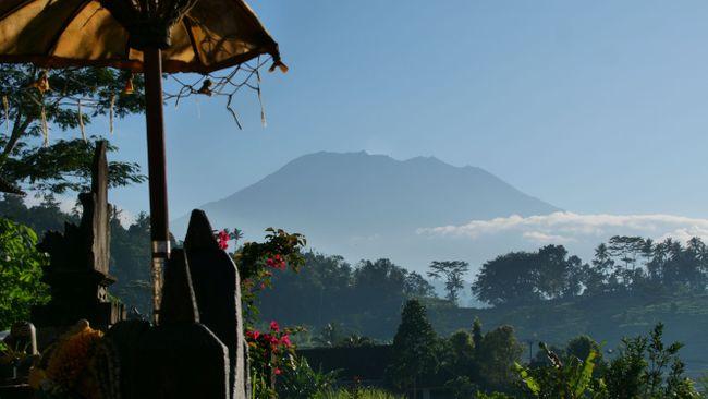Sidemen - Blick auf den Gunung Agung