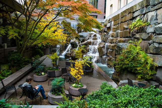 Der Waterfall Garden