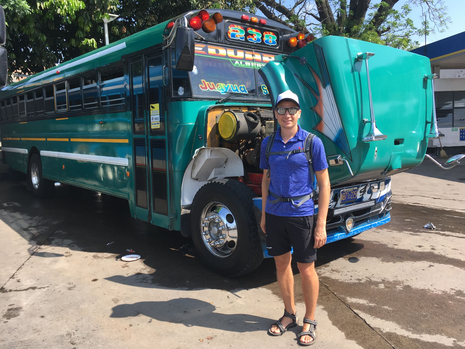 Chicken Bus - Santa Ana, El Salvador