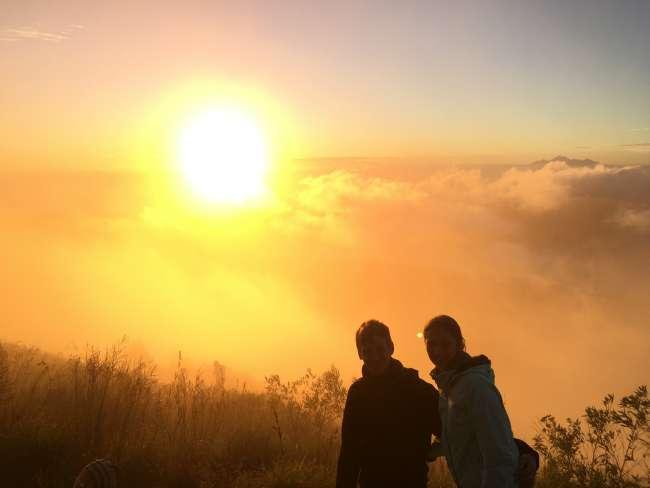 Sonnenaufgang Mt Batur