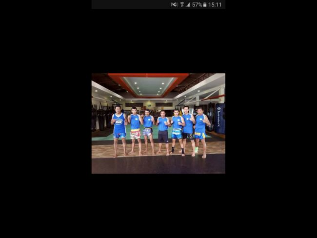 Muay Thai trainers @ Lanta Sport Resort