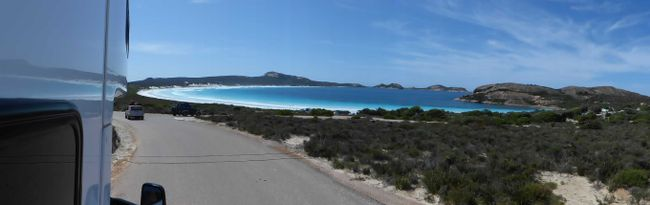 Tag 43: Cape Le Grand National Park (Lucky Bay, Thistle Cove) - Esperance