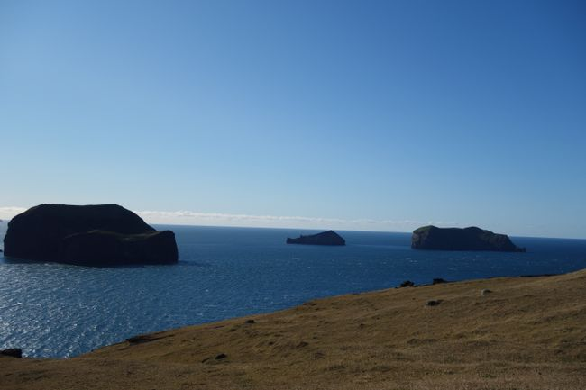 The archipelago of Vestmannaeyjar, its main island is called Heimaey