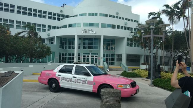 Polizei Miami Beach