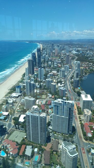 Sky Observation Tower - Surfers Paradise