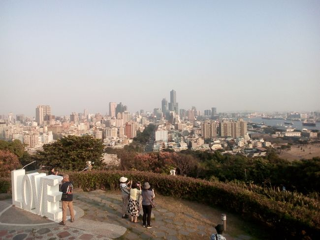 View over Kaohsiung from Monkey Mountain