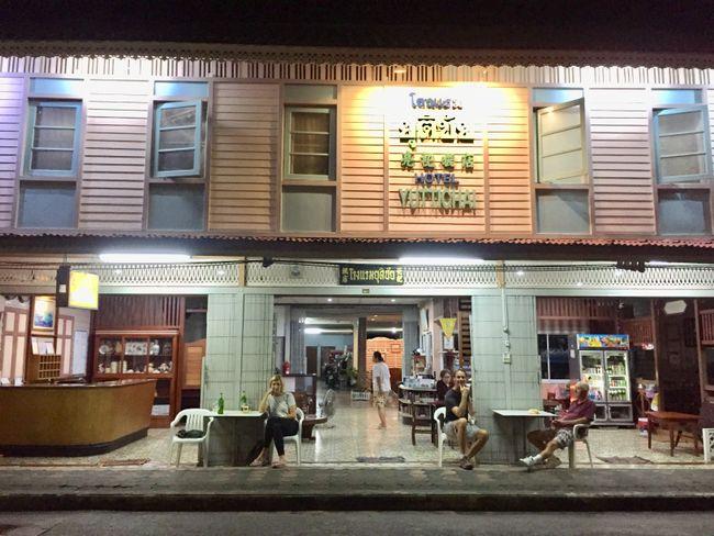 Typisches Thaihaus, hier als Hotel