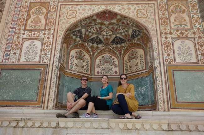 Isa begleitete uns durch Rajasthan