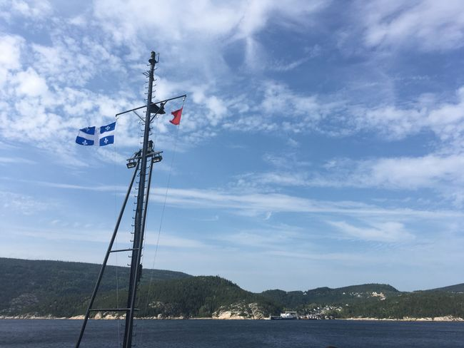 Ferry to Tadoussac