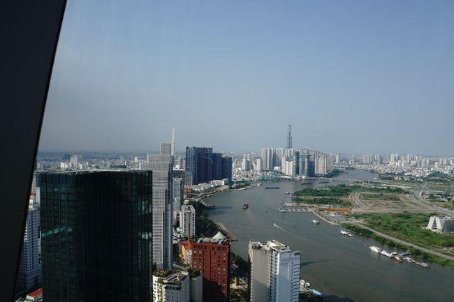 Blick entlang des Sông Sài Gòn