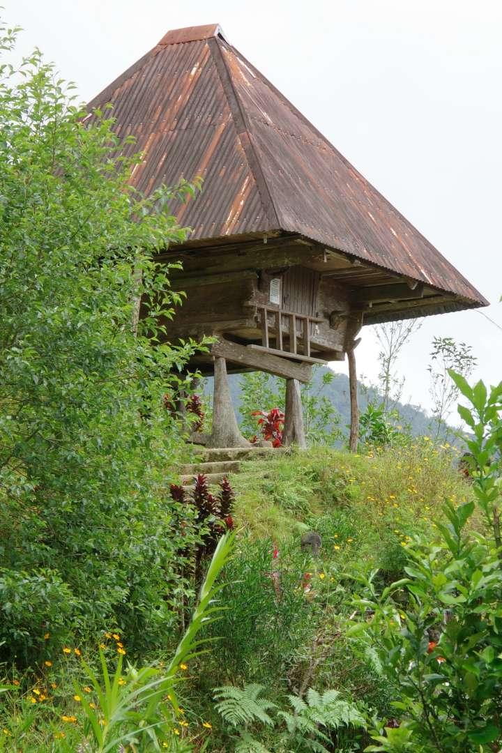 typisches Ifugao Haus