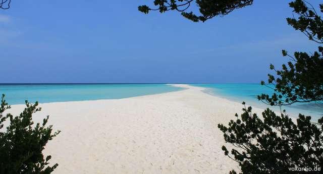Kuramathi: Traumhafte Sandbank