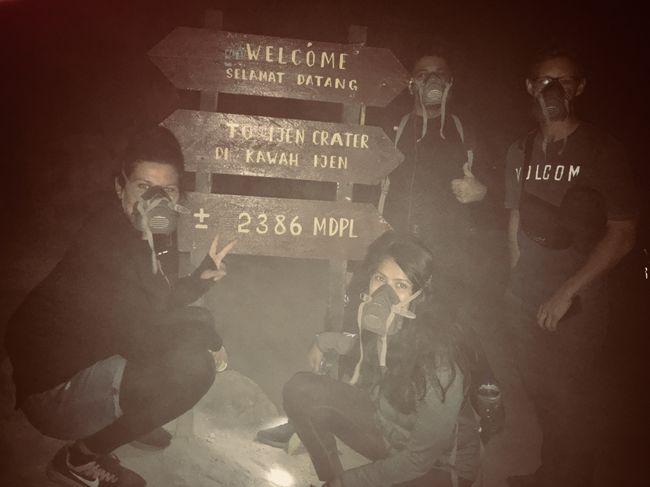 Kaum in Banyuwangi (Java) angekommen geht es um 00:30 Uhr auch schon los zum Mount Ijen