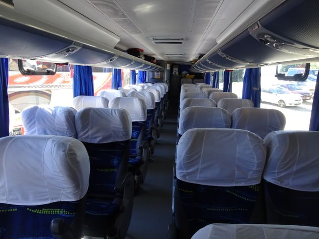 Ein Bus für uns allein!