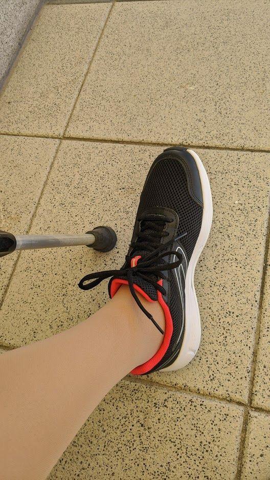 Vacoped schuh ohne krücken