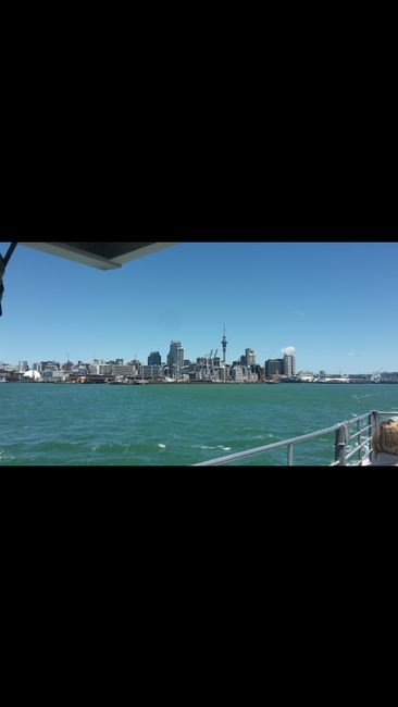 Leaving Auckland CBD