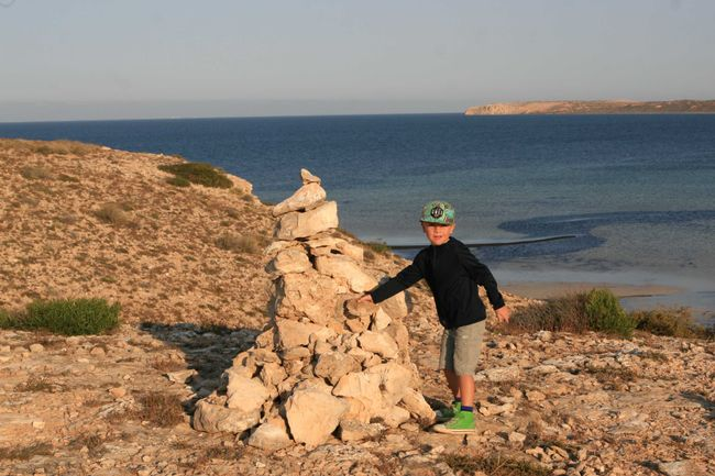 Tag 13: Fowlers Camp - Hamelin Pool - Point Quobba