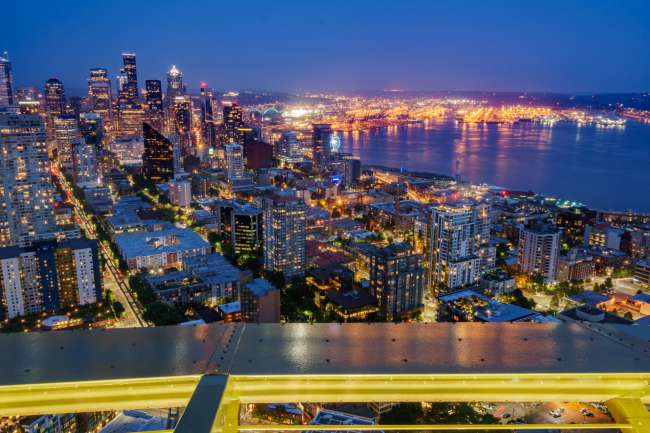 Seattle by Night, South