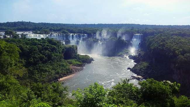 Iguazu Wasserfälle - Brasilien