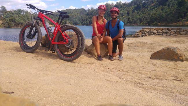 Mountainbiken um den See