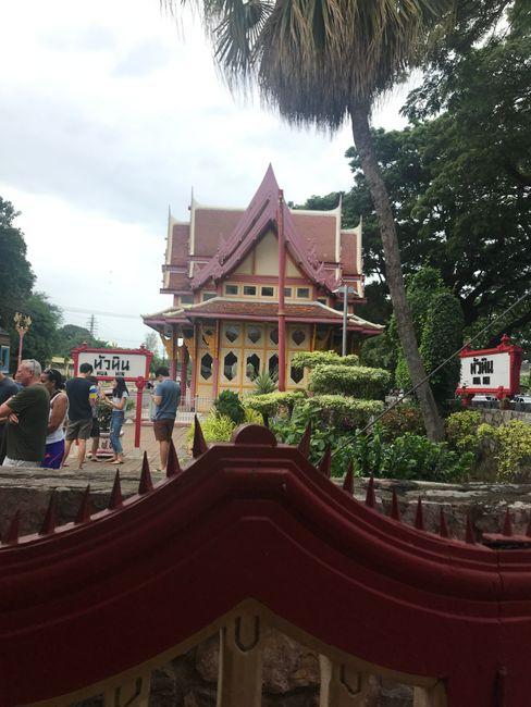 Der Bahnhof von Hua Hin